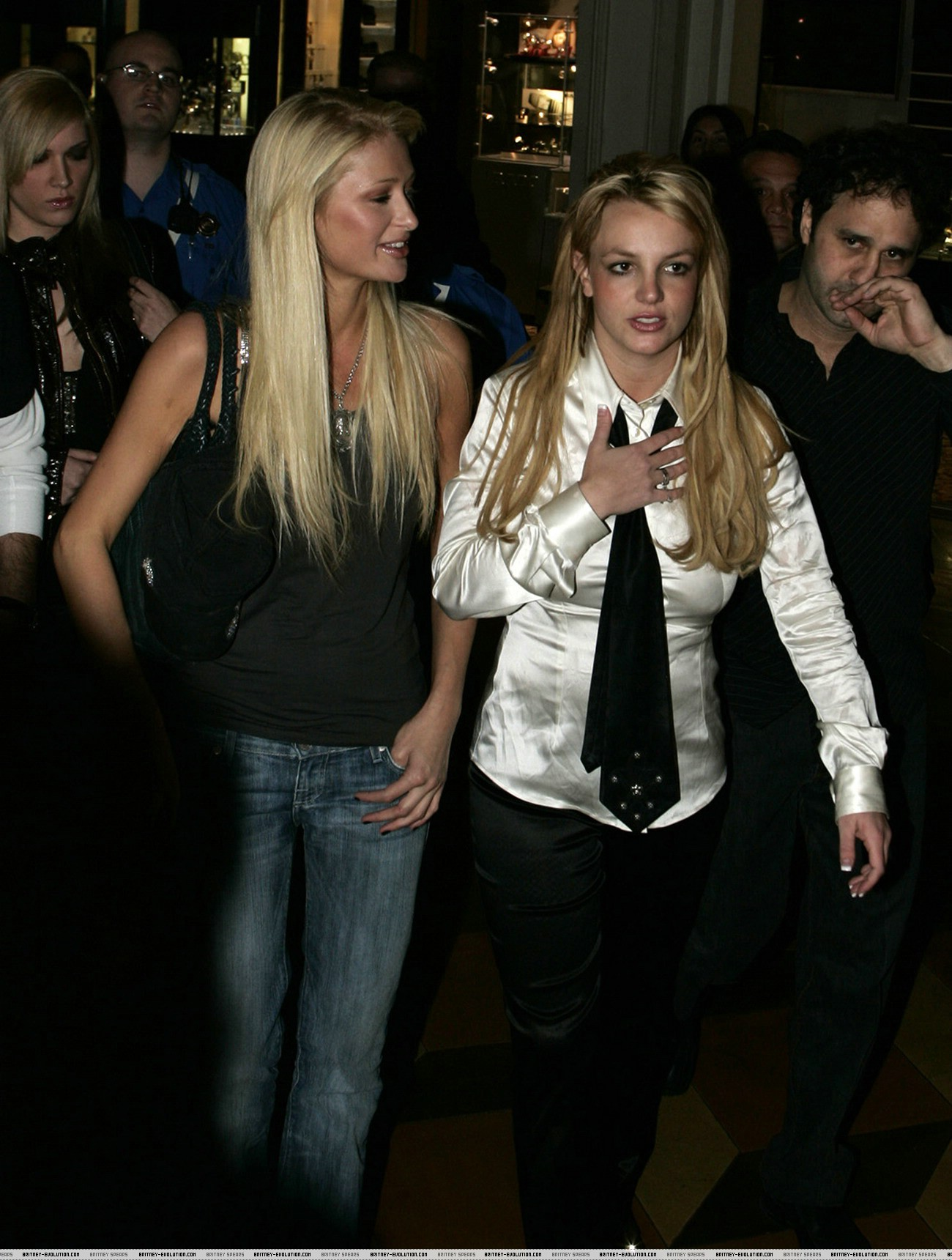 Britney Spears  and Paris Hilton- Free photo