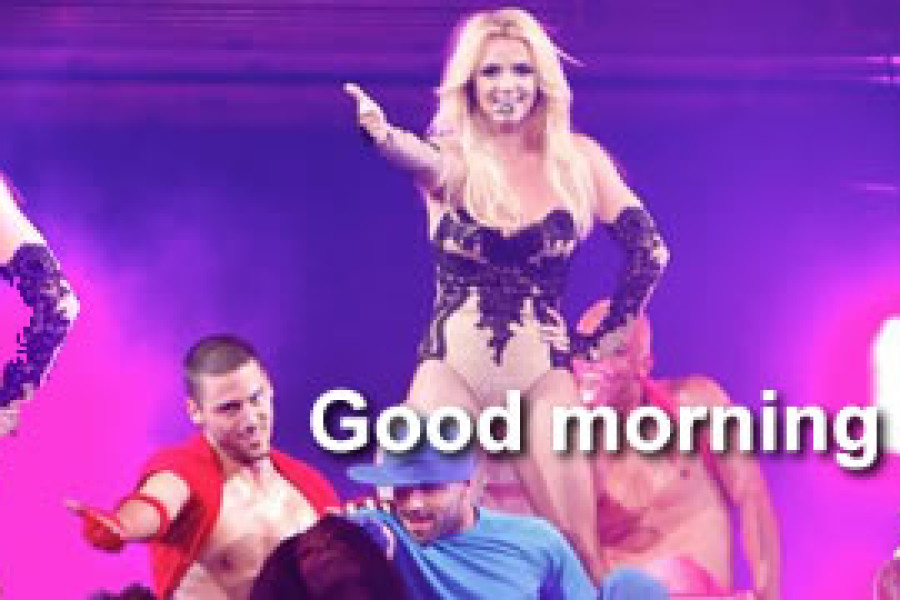 Britney è arrivata a Vancouver