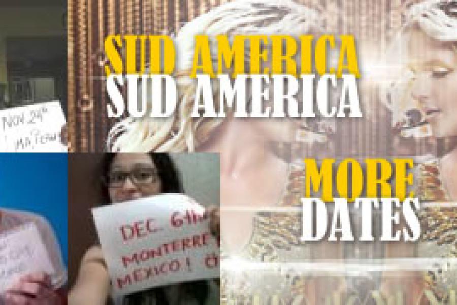 Sud America | Nuove date