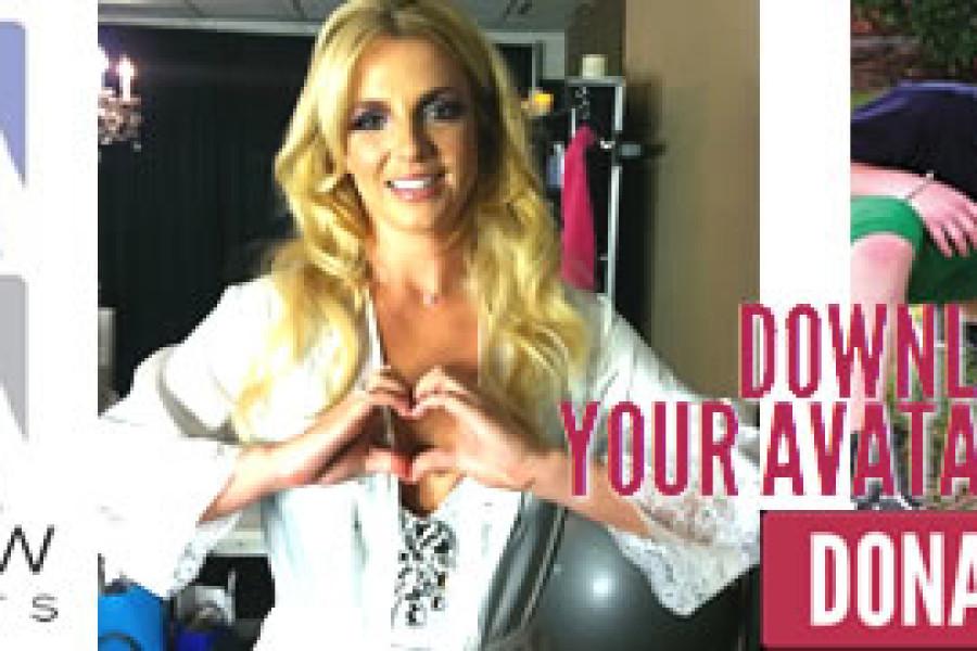 Britney mostra il suo cuore