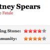 """Il Rolling Stone assegna 4/5 stelle a """"Femme Fatale"""""""